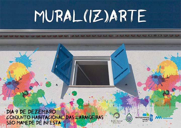 Apresentação do Mural de Intervenção Artística
