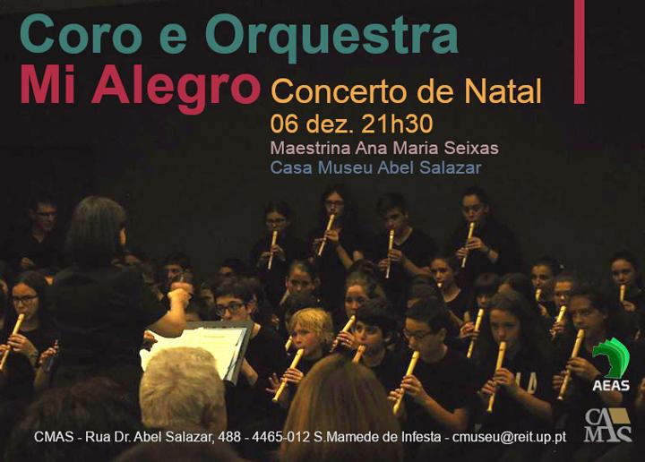 Coro e Orquestra Mi Alegro - Concerto de Natal