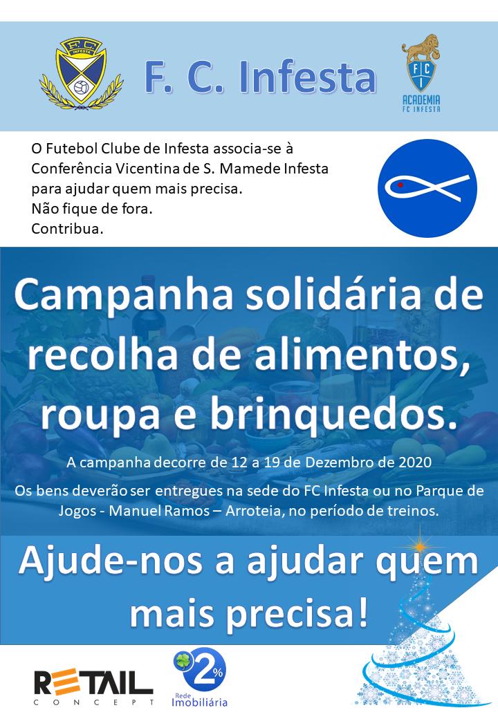 Campanha solidária - F. C. Infesta