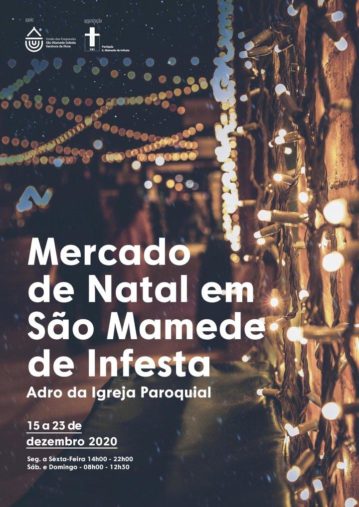 Mercado de Natal em São Mamede de Infesta
