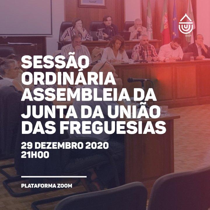 Sessão Ordinária Assembleia da Junta da União das Freguesias